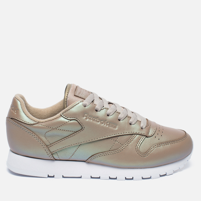 Женские кроссовки Reebok Classic Leather Pearlized Champagne/White