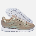 Женские кроссовки Reebok Classic Leather Pearlized Champagne/White фото- 2