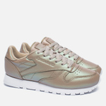 Женские кроссовки Reebok Classic Leather Pearlized Champagne/White фото- 1