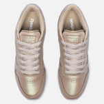 Женские кроссовки Reebok Classic Leather Pearlized Champagne/White фото- 4