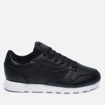 Женские кроссовки Reebok Classic Leather Pearlized Pearl Black фото- 0