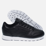 Женские кроссовки Reebok Classic Leather Pearlized Pearl Black фото- 1