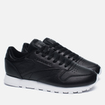 Женские кроссовки Reebok Classic Leather Pearlized Pearl Black фото- 2