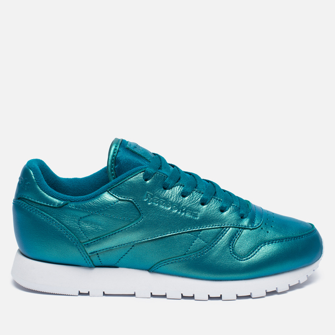 Женские кроссовки Reebok Classic Leather Pearlized Pearl Emerald
