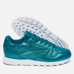 Женские кроссовки Reebok Classic Leather Pearlized Pearl Emerald фото- 1