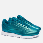 Женские кроссовки Reebok Classic Leather Pearlized Pearl Emerald фото- 2
