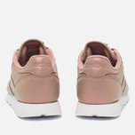 Женские кроссовки Reebok Classic Leather Pearlized Rose Gold/White фото- 3