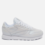 Женские кроссовки Reebok Classic Leather Pearlized White фото- 0