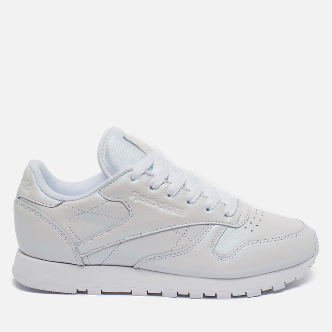 Reebok Classic Leather Women's Sneakers Pearlized White
