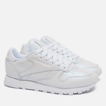 Reebok Classic Leather Women's Sneakers Pearlized White photo- 1