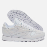 Reebok Classic Leather Women's Sneakers Pearlized White photo- 2