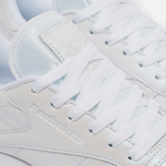 Женские кроссовки Reebok Classic Leather Pearlized White фото- 3