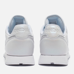 Женские кроссовки Reebok Classic Leather Pearlized White фото- 4