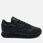 Женские кроссовки Reebok Classic Leather Quilted Pack Black/White фото- 0