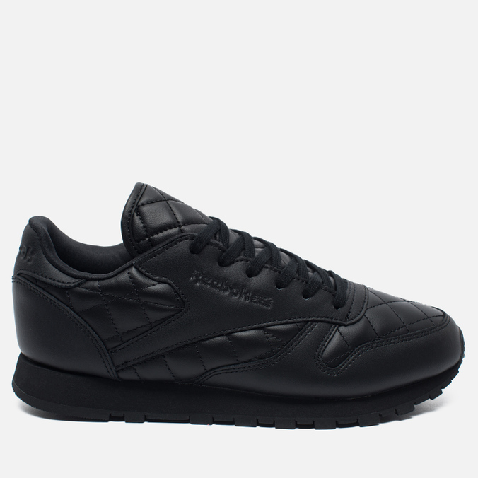 Женские кроссовки Reebok Classic Leather Quilted Pack Black/White