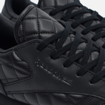 Женские кроссовки Reebok Classic Leather Quilted Pack Black/White фото- 5