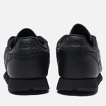 Женские кроссовки Reebok Classic Leather Quilted Pack Black/White фото- 3