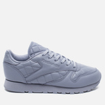 Женские кроссовки Reebok Classic Leather Quilted Pack Purple Fog/White фото- 0