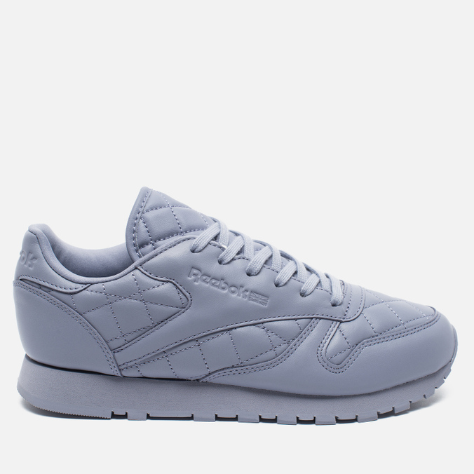 Женские кроссовки Reebok Classic Leather Quilted Pack Purple Fog/White