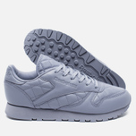 Reebok Classic Leather Quilted Pack Women's Sneakers Purple Fog/White photo- 2
