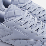 Reebok Classic Leather Quilted Pack Women's Sneakers Purple Fog/White photo- 5