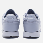 Женские кроссовки Reebok Classic Leather Quilted Pack Purple Fog/White фото- 3