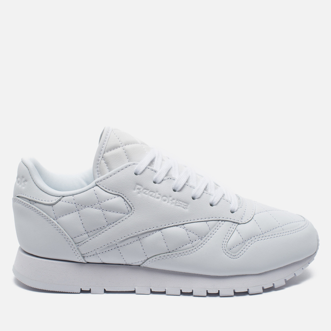 Женские кроссовки Reebok Classic Leather Quilted Pack White