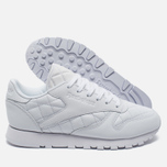 Женские кроссовки Reebok Classic Leather Quilted Pack White фото- 2