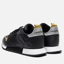 Женские кроссовки Reebok Classic Leather REE:DUX Black/White/Silver Metallic фото- 2