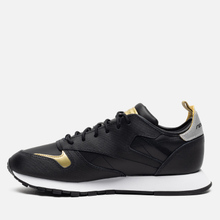 Женские кроссовки Reebok Classic Leather REE:DUX Black/White/Silver Metallic фото- 5