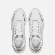 Женские кроссовки Reebok Classic Leather REE:DUX White/Cold Grey/Silver Metallic фото- 1