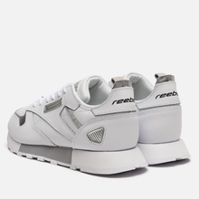 Женские кроссовки Reebok Classic Leather REE:DUX White/Cold Grey/Silver Metallic фото- 2