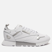 Женские кроссовки Reebok Classic Leather REE:DUX White/Cold Grey/Silver Metallic фото- 3