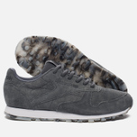 Женские кроссовки Reebok Classic Leather SHMR Alloy/White/Pewter фото- 2