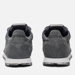 Женские кроссовки Reebok Classic Leather SHMR Alloy/White/Pewter фото- 3