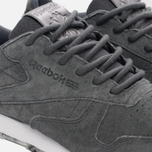 Женские кроссовки Reebok Classic Leather SHMR Alloy/White/Pewter фото- 5