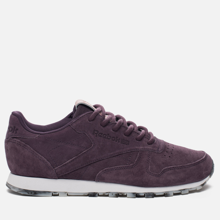 Женские кроссовки Reebok Classic Leather SHMR Meteorite/White/Rose Gold