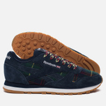 Женские кроссовки Reebok Classic Leather UK Roots Collegiate Navy/Flash Red/White/Gum фото- 2