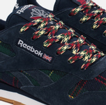 Женские кроссовки Reebok Classic Leather UK Roots Collegiate Navy/Flash Red/White/Gum фото- 5