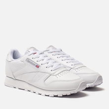 Женские кроссовки Reebok Classic Leather White фото- 0