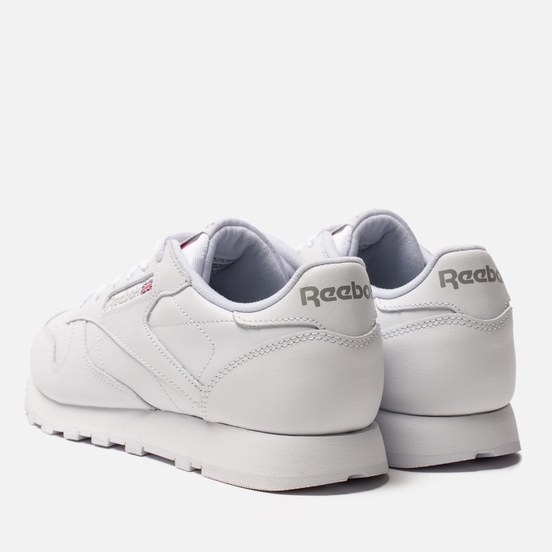 Женские кроссовки Reebok Classic Leather White