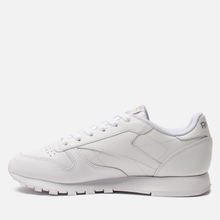 Женские кроссовки Reebok Classic Leather White фото- 5