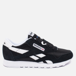 Reebok Classic Nylon Women's Sneakers Black/White photo- 0