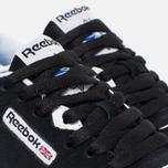 Reebok Classic Nylon Women's Sneakers Black/White photo- 5