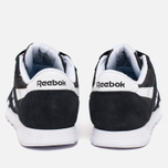 Reebok Classic Nylon Women's Sneakers Black/White photo- 3