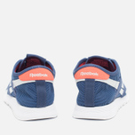 Женские кроссовки Reebok Classic Nylon See Through Midnight Blue/Reflection Blur/Atomic Red фото- 3