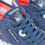 Reebok Classic Nylon See Through Women's Sneakers Midnight Blue/Reflection Blur/Atomic Red photo- 5
