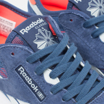 Женские кроссовки Reebok Classic Nylon See Through Midnight Blue/Reflection Blur/Atomic Red фото- 5