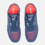 Женские кроссовки Reebok Classic Nylon See Through Midnight Blue/Reflection Blur/Atomic Red фото- 4