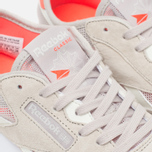 Женские кроссовки Reebok Classic Nylon See Through Sand Stone/Chalk/Atomic Red фото- 5